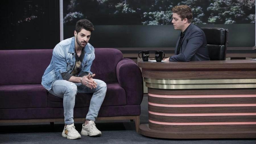 Alok em entrevista no Programa do Porchat | Foto: Edu Moraes/Record TV