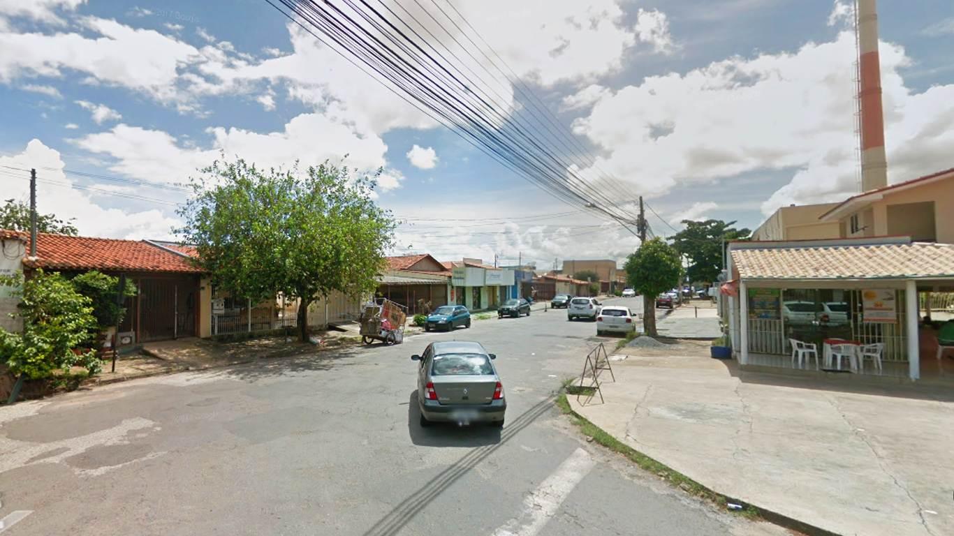 Ocorrência foi registrada próximo ao Shopping Cidade Jardim, no setor de mesmo nome, em Goiânia   Foto: Reprodução/Google Maps