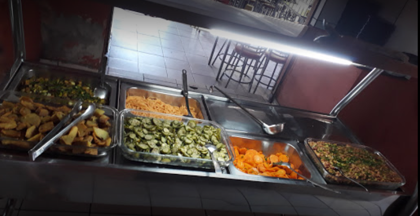 Restaurante Cincão oferece várias opções a baixo custo no centro de Goiânia   Foto: Divulgação