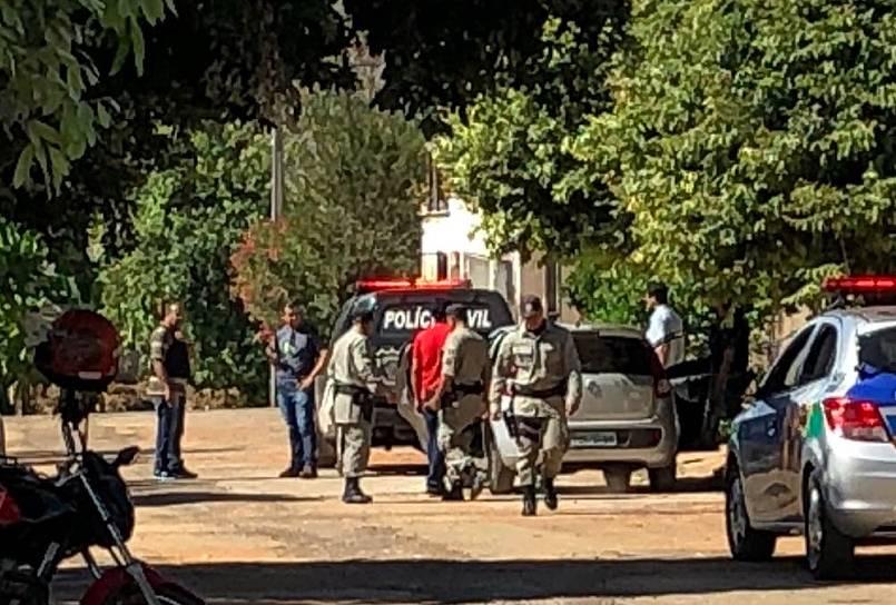 Em Minaçu, homem é suspeito de matar a própria filha com golpe de foice | Foto: Leitor/Whatsapp