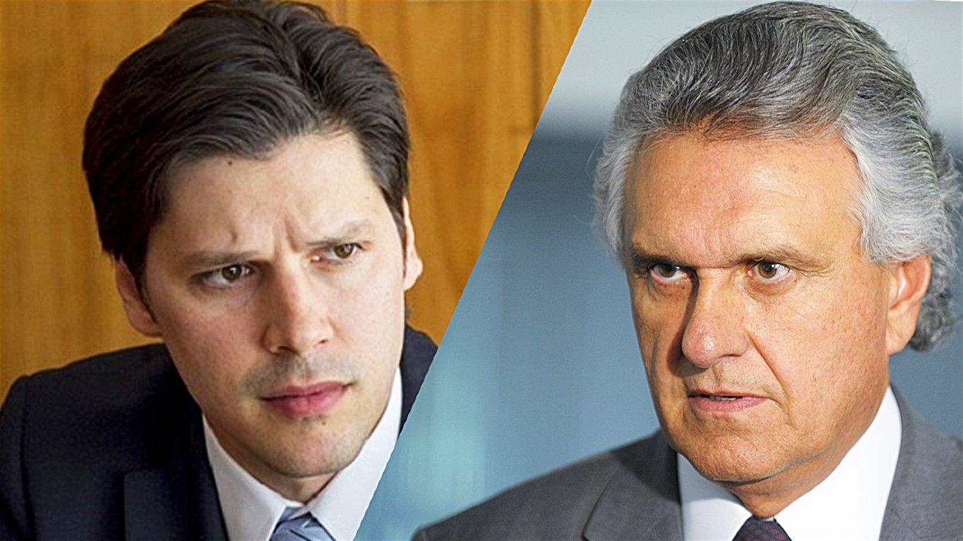 Deputado federal Daniel Vilela (MDB) e senador Ronaldo Caiado (DEM) são pré-candidatos ao Governo de Goiás   Foto: Divulgação