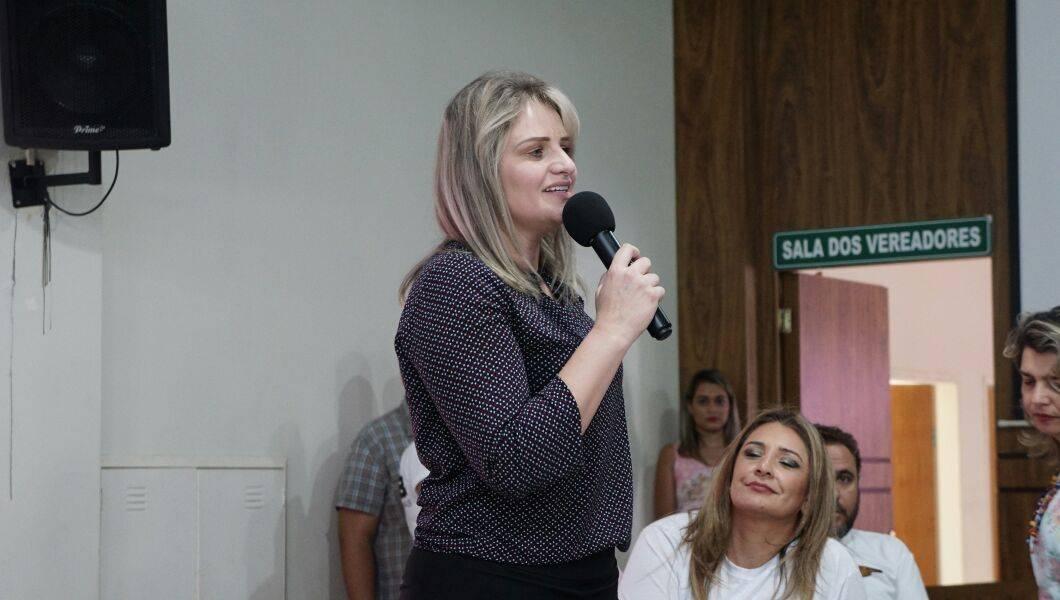 Presidente da JPTB nacional Graziela Nienov | Foto: Folha Z