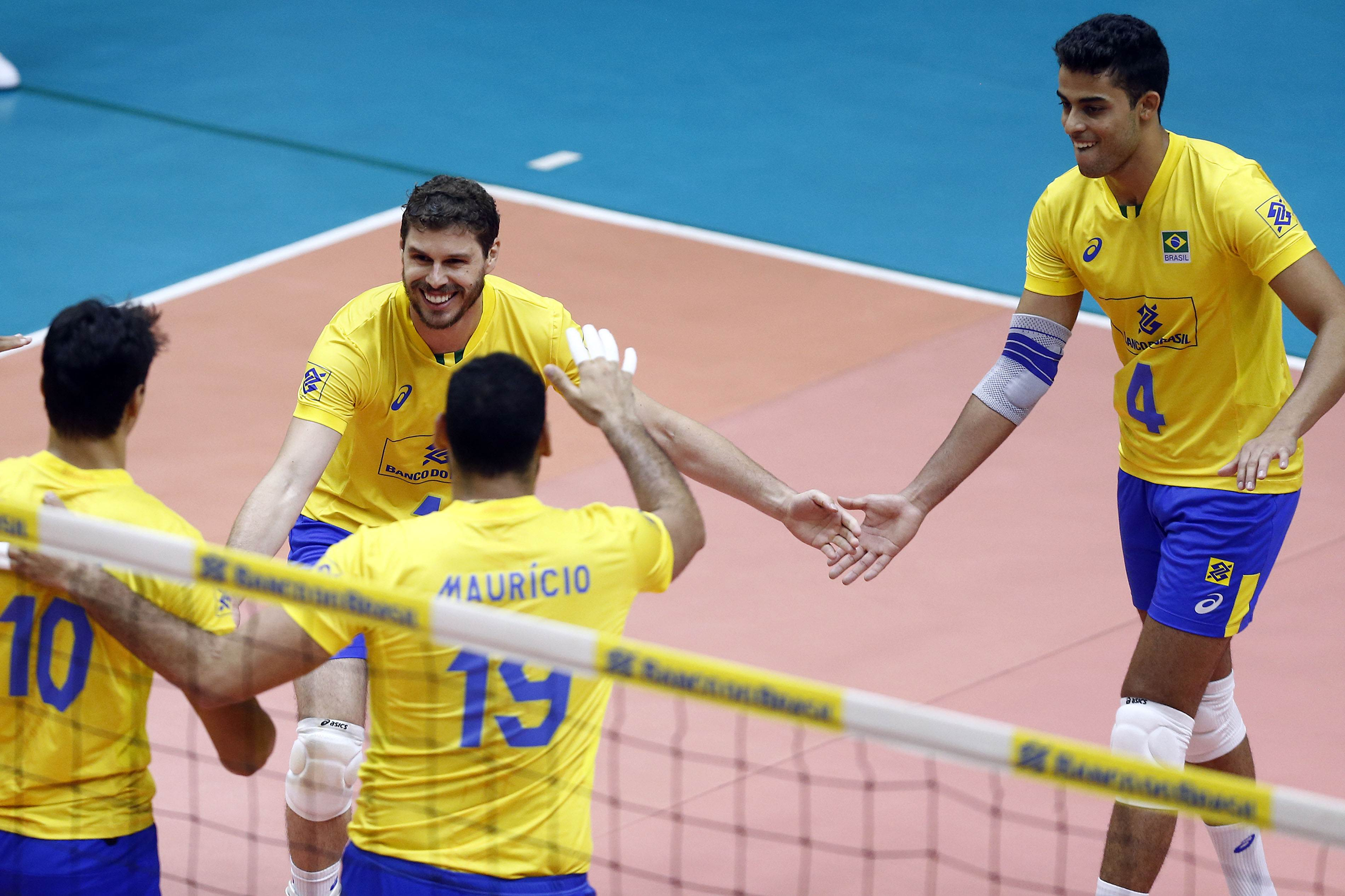 Jogos da Seleção Brasileira de vôlei em Goiânia são no próximo fim de semana | Foto: Gaspar Nobrega/Inovafoto/CBV