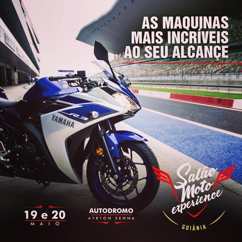 O evento de motociclismo em Goiânia está na sua segunda edição   Foto: Divulgação