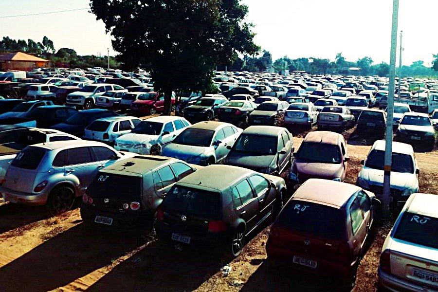 Cerca de 4.102 veículos automotores vão a leilão do Detran-GO realizado em Goiânia   Foto: Divulgação/Detran-GO