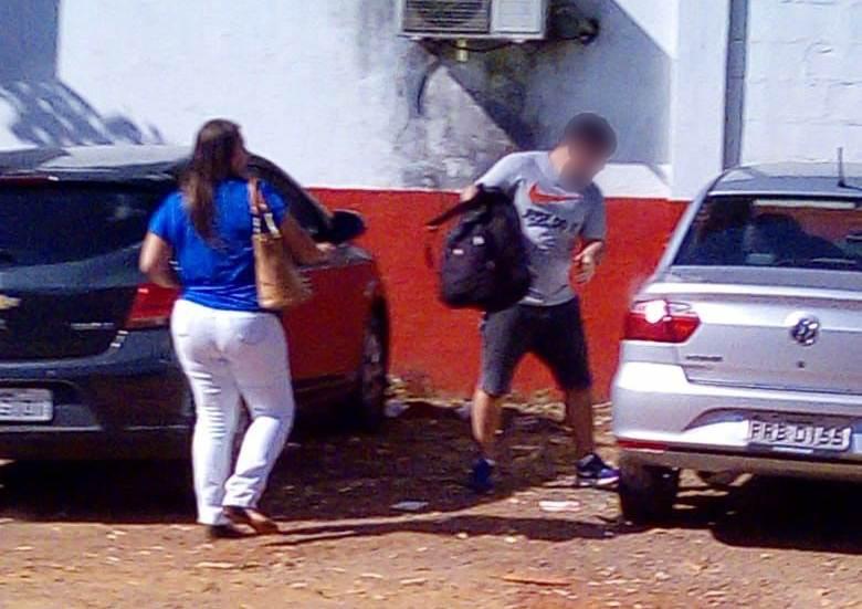 Segundo a PM, suspeito de praticar furtos a veículos na região noroeste mora em condomínio horizontal na cidade   Foto: Leitor/Whatsapp