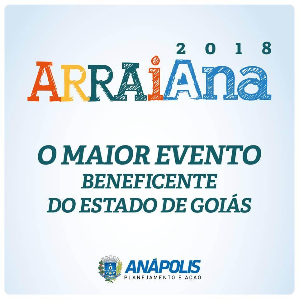 É o primeiro ArraiAna organizado, mas já promete grandes shows e recursos beneficentes   Fonte: Divulgação
