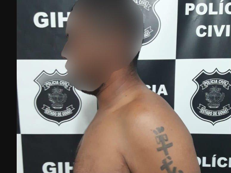 O homem havia acabado de cumprir pena por roubo em Valparaíso   Foto: Reprodução/Polícia Civil
