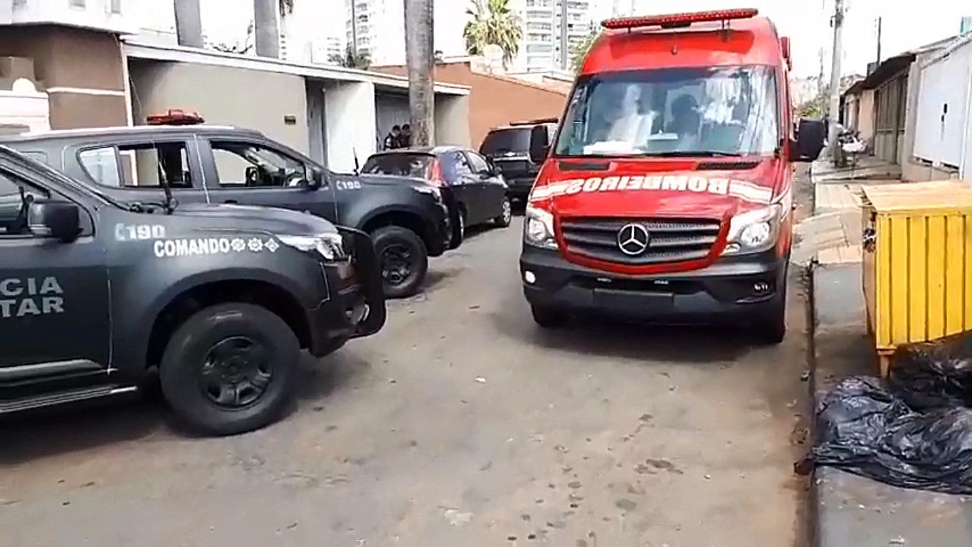 Suspeito de roubo a banco morre em confronto com a Rotam nesta segunda, 27 | Foto: Leitor / Whatsapp