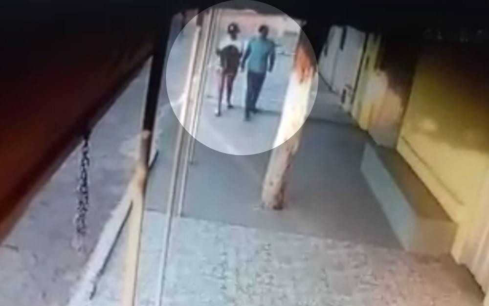 Imagens de segurança captam último momento em que Camily foi vista | Foto: Reprodução