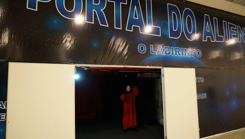 Aparecida Shopping apresenta Portal do Alien   Foto: Divulgação