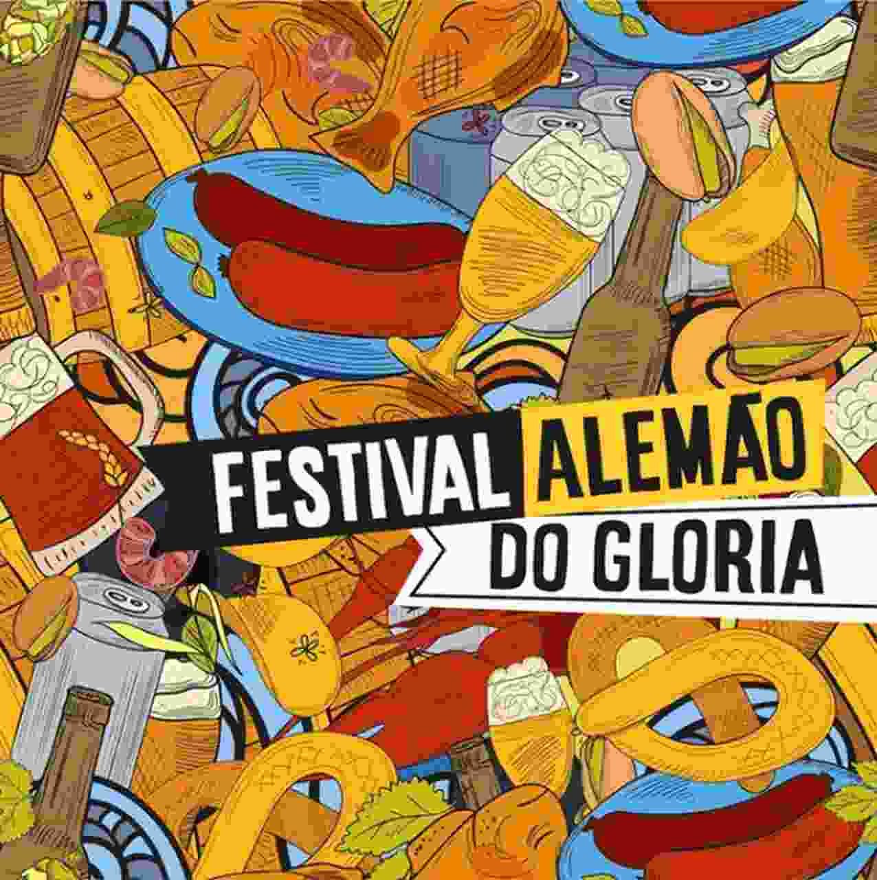 O cardápio do Festival Alemão do Glória tem desde o petisco de salsichão ao tradicional chopp   Foto: divulgação