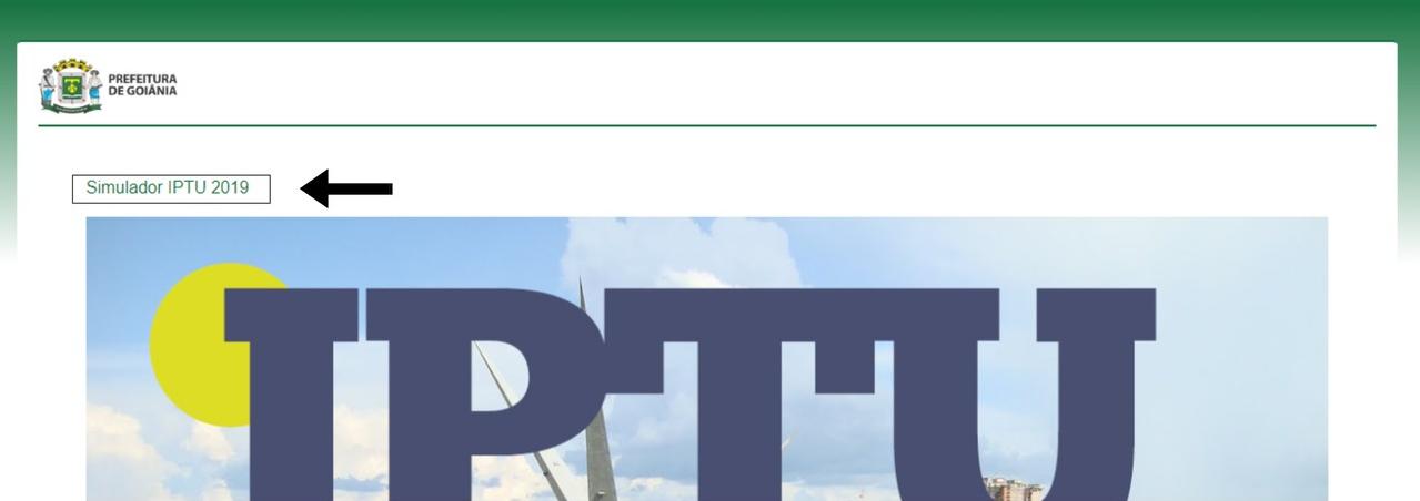 Nessa parte do site, o morador novamente clica onde a seta está indicando | Foto: montagem
