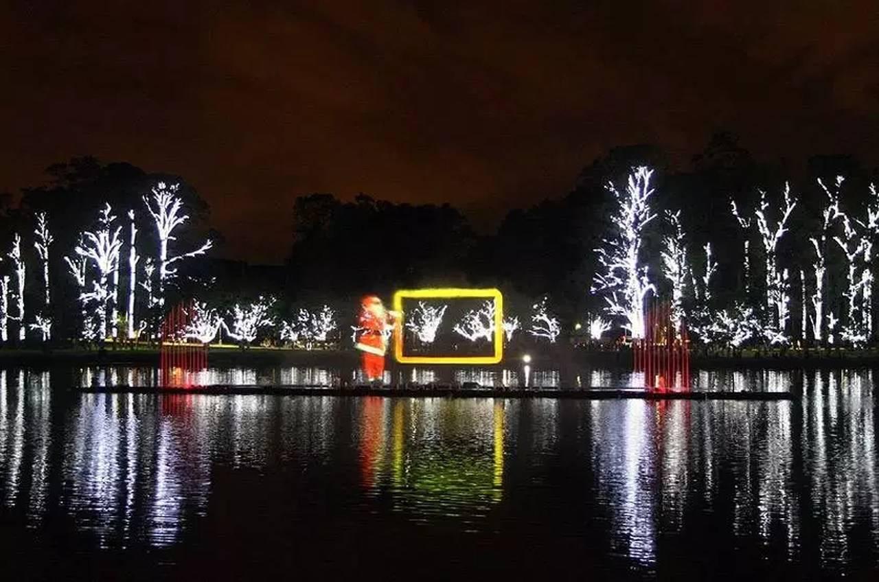 Show nas águas é exibido há 14 anos no Parque Ibirapuera, em São Paulo | Foto: Alexandre Diniz/SPTurismo