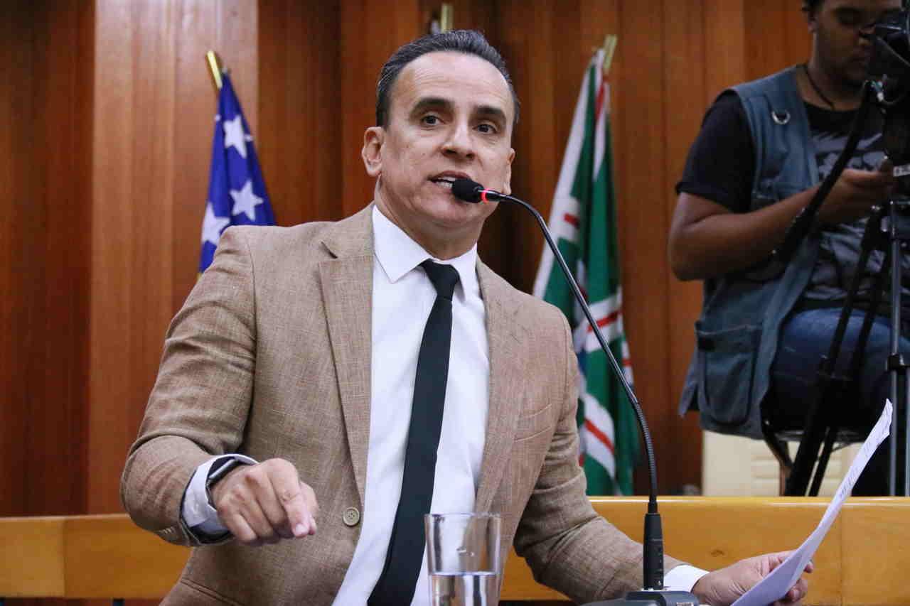Vereador Zander Fábio   Foto: Divulgação / Câmara