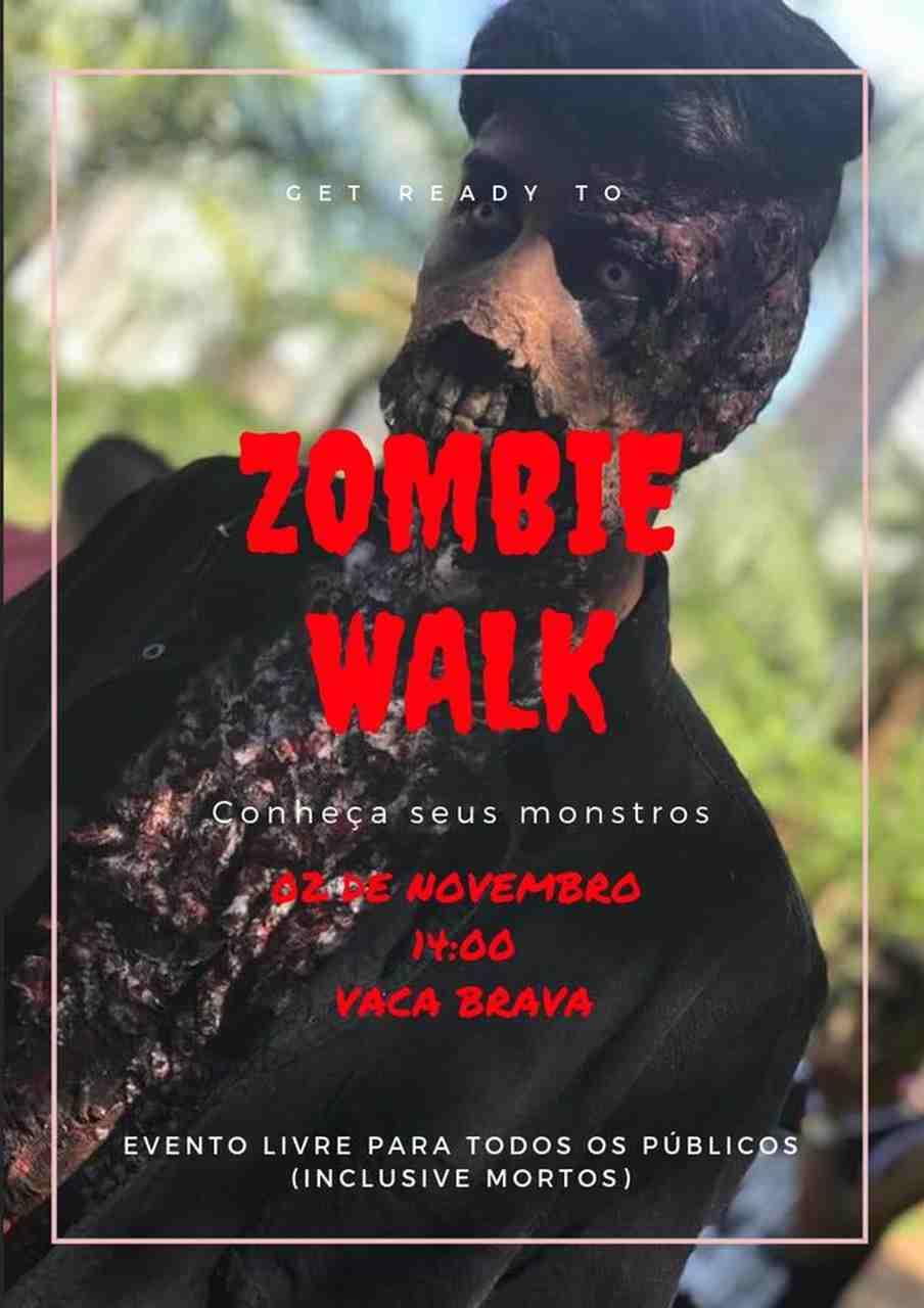 Zombie Walk Goiânia 2018   Foto: Divulgação
