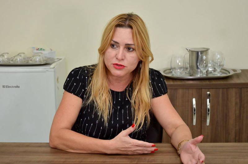 Secretária de Educação e Cultura Valéria Pettersen | Foto: Reprodução