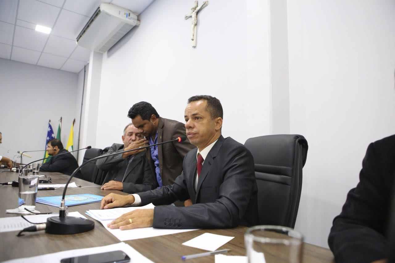 Vereador Isaac Martins (PR)   Foto: Câmara de Aparecida