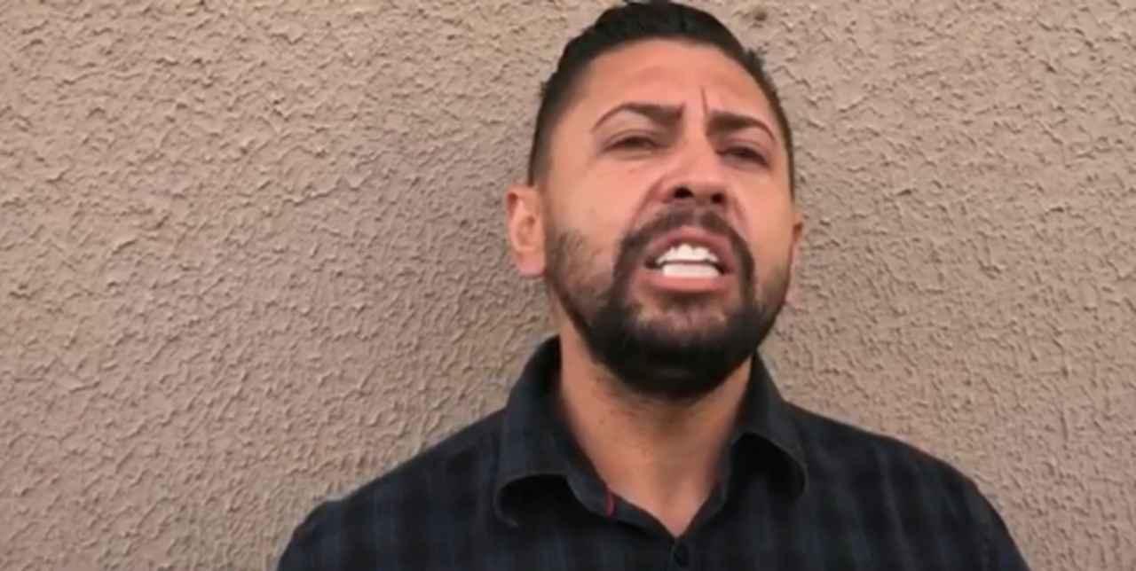 Juninho gravou um vídeo para justificar o crime cometido | Foto: reprodução