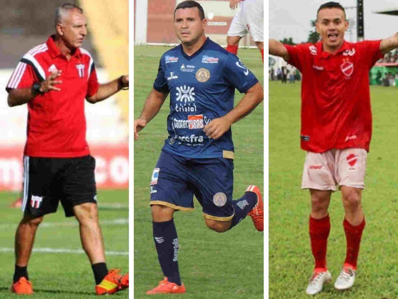 Moisés, Nonato e Márcio Fernandes são confirmados na Aparecidense   Foto: Reprodução