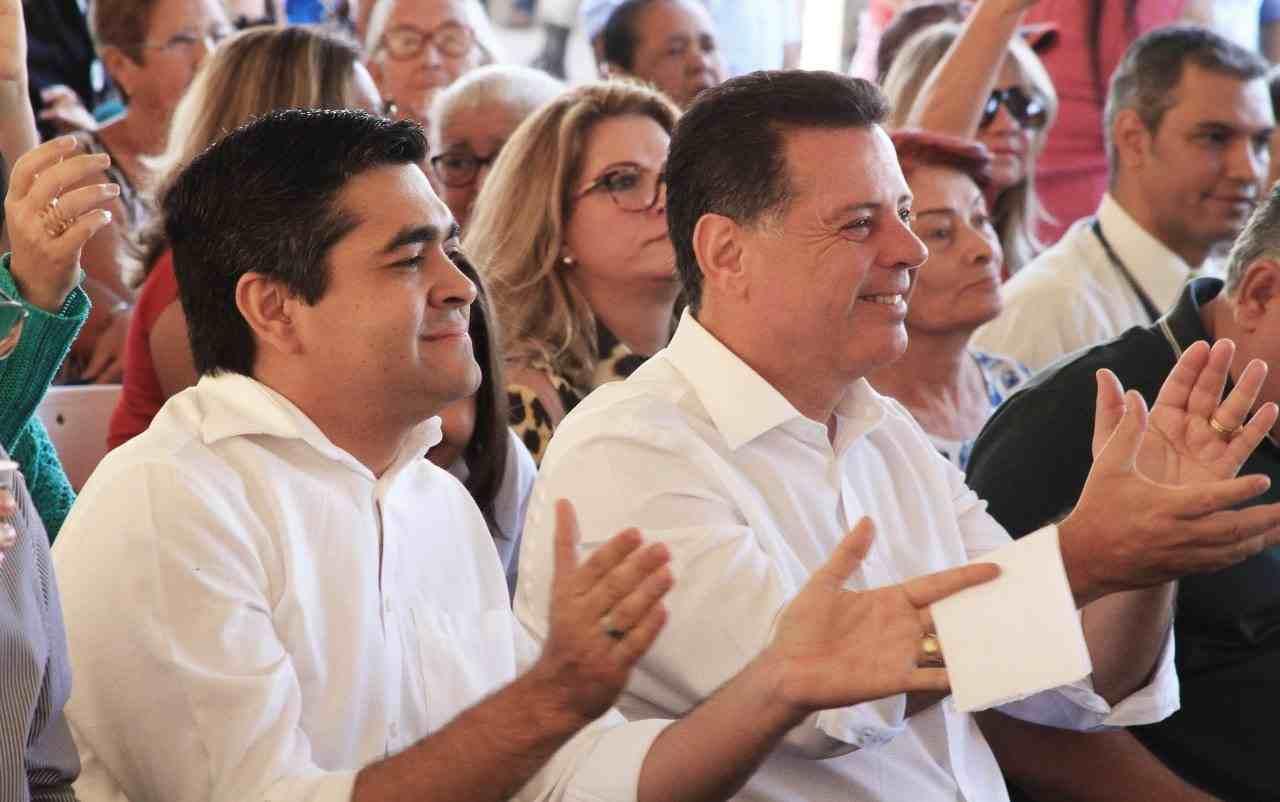 Após rompimento com o PT, Tayrone filiou-se ao PSDB de Marconi Perillo | Foto: Reprodução