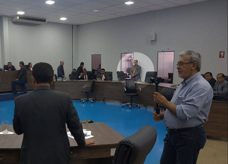 Executivo chegou a enviar o secretário da Casa Civil Einstein Paniago, na tentativa de articular a manutenção do veto   Foto: Folha Z