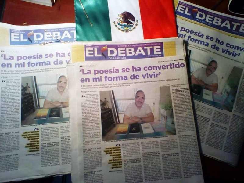 Poeta cubano é celebrado pela mídia mundial | Foto: Divulgação