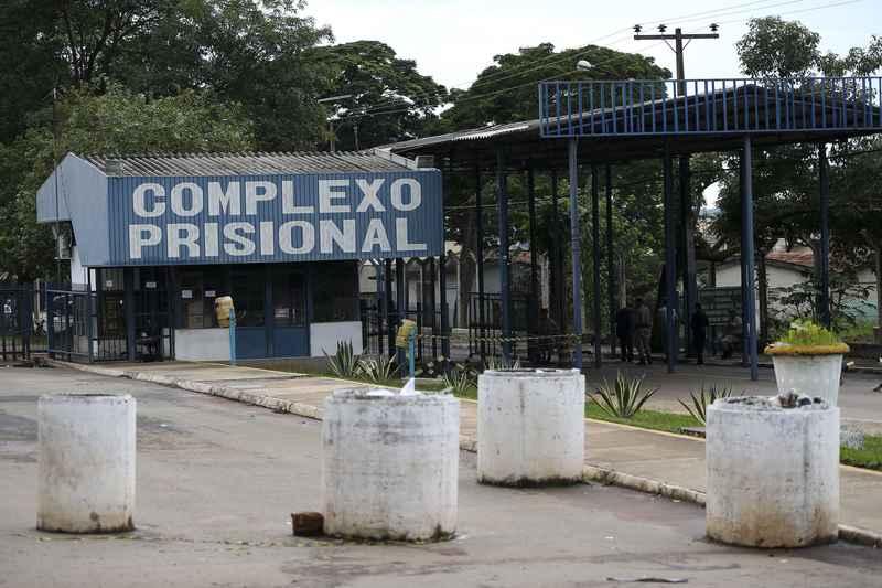 João de Deus está preso no Núcleo de Custódia do Complexo Prisional de Aparecida de Goiânia | Foto: Marcelo Camargo / Agência Brasil