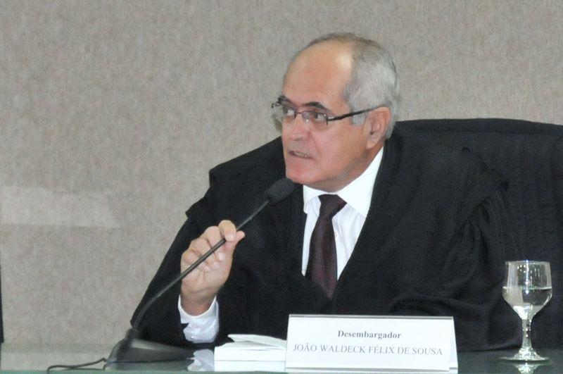 Desembargador do Tribunal de Justiça de Goiás João Waldeck Felix de Sousa | Foto: Divulgação