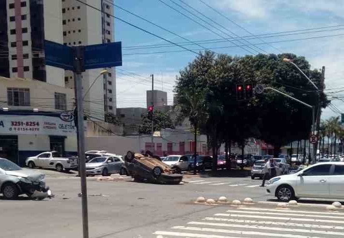 Capotamento Avenida T-7 Goiânia