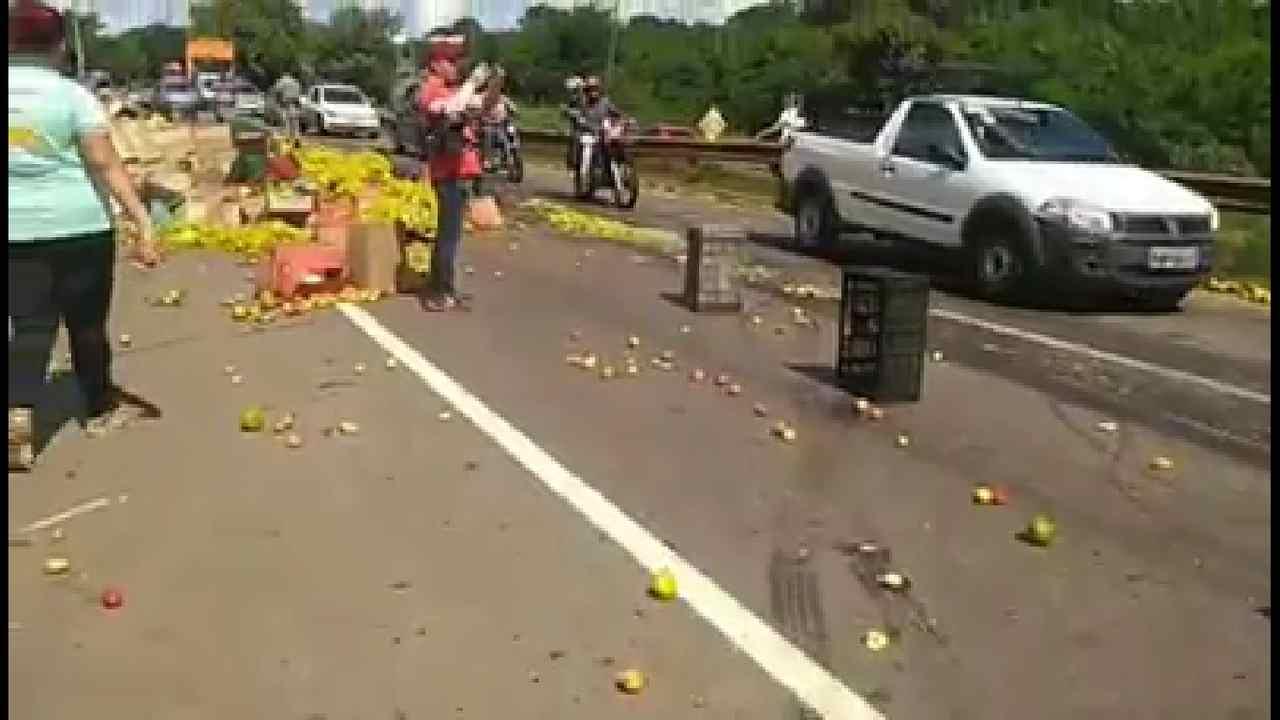 Acidente grave avenida perimetral Goiânia