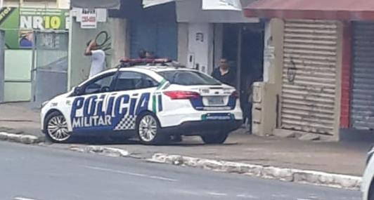Homem morto a tiros Centro de Goiânia
