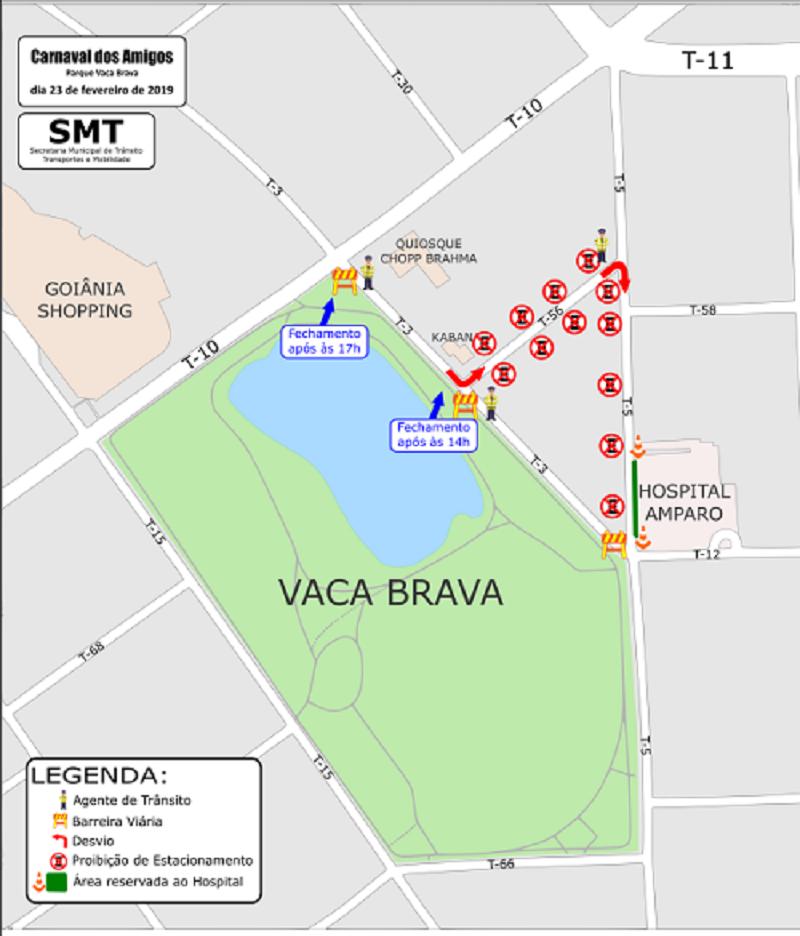 SMT anuncia mudanças no trânsito para o pré-Carnaval em Goiânia | Foto: Divulgação / Prefeitura de Goiânia