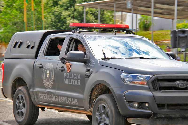 Após amarrar morador e assaltar apartamento, ladrões fogem no Setor Oeste e são procurados pela Polícia Militar   Foto: Ilustrativa