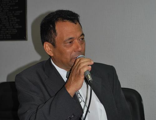 Vereador Helvecino Moura (PT)   Foto: Divulgação / Câmara