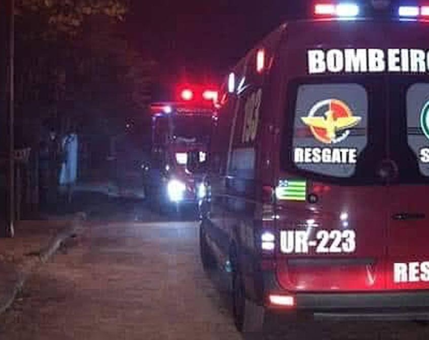 Jovem chegou a ser socorrida por bombeiros militares, mas não resistiu aos ferimentos | Foto: Reprodução