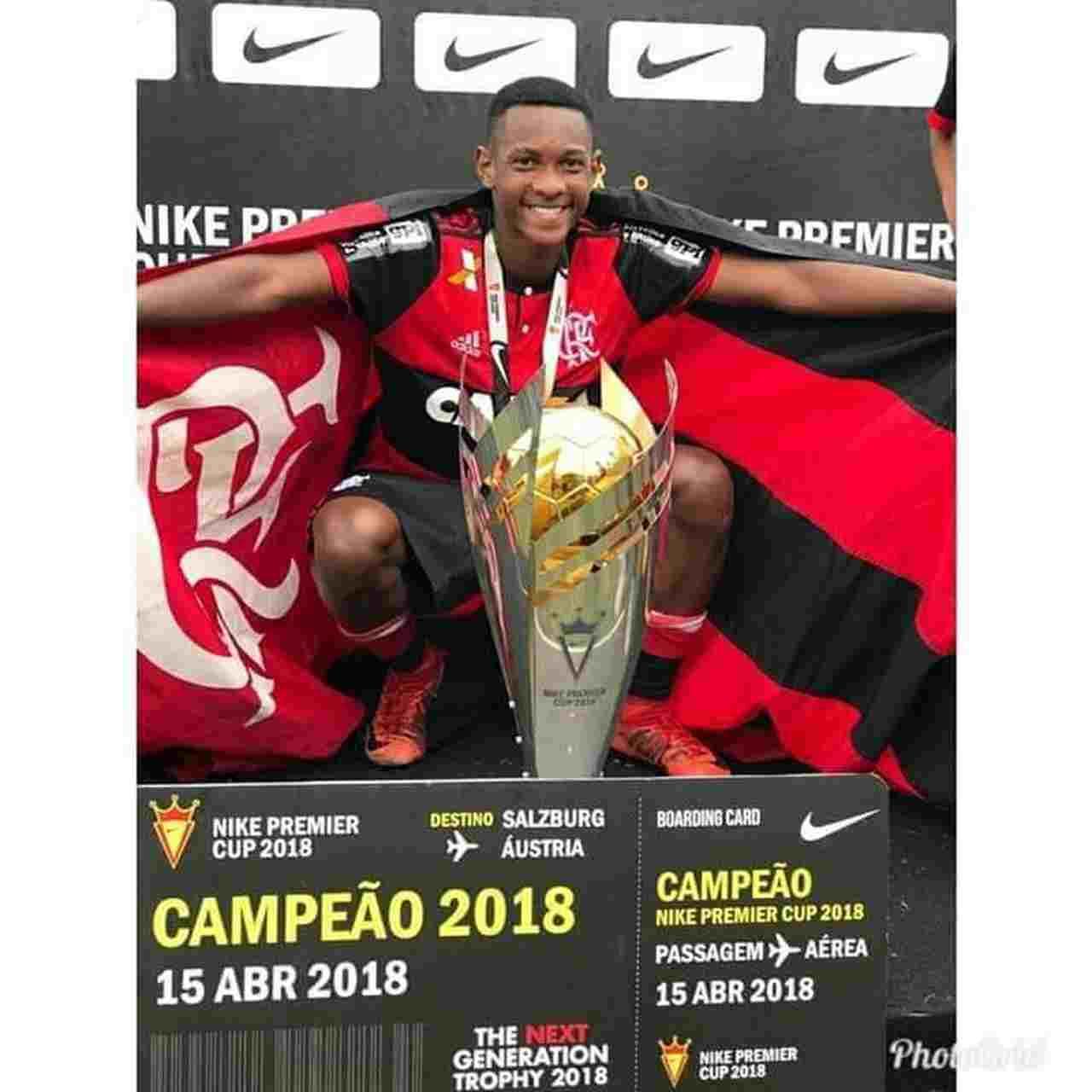 Incêndio CT Flamengo Jorge