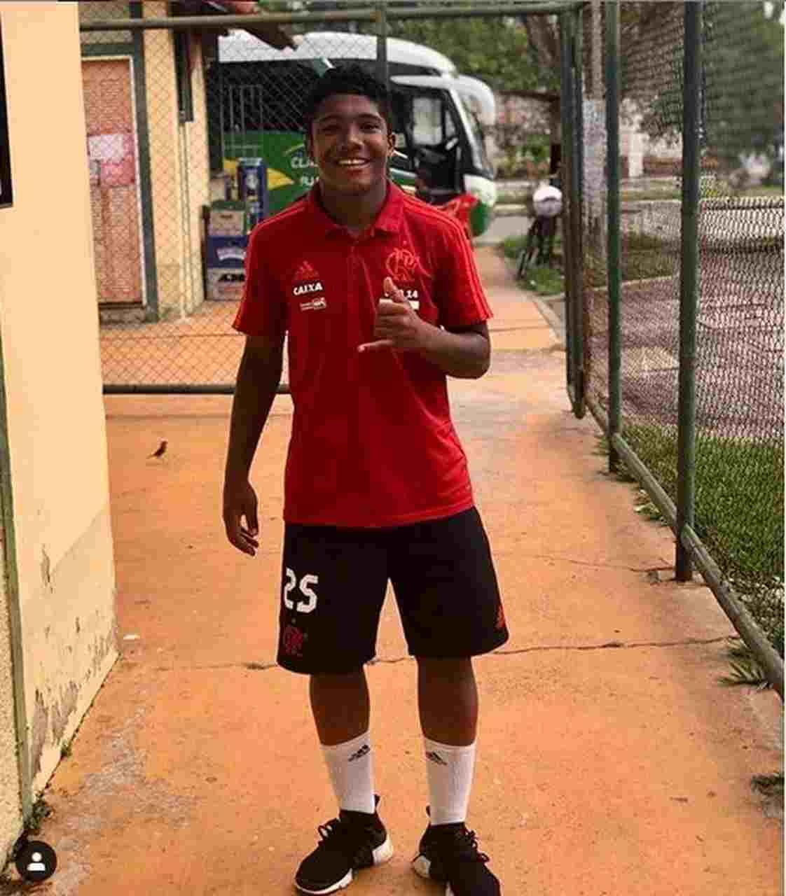 Incêndio CT Flamengo Vitor