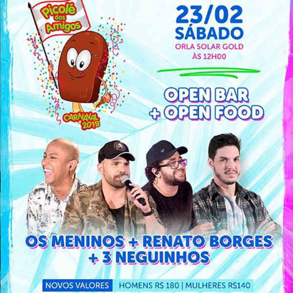 Picolé dos Amigos 2019