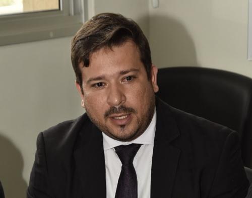 Procurador-geral de Aparecida, Fábio Camargo | Foto: Reprodução