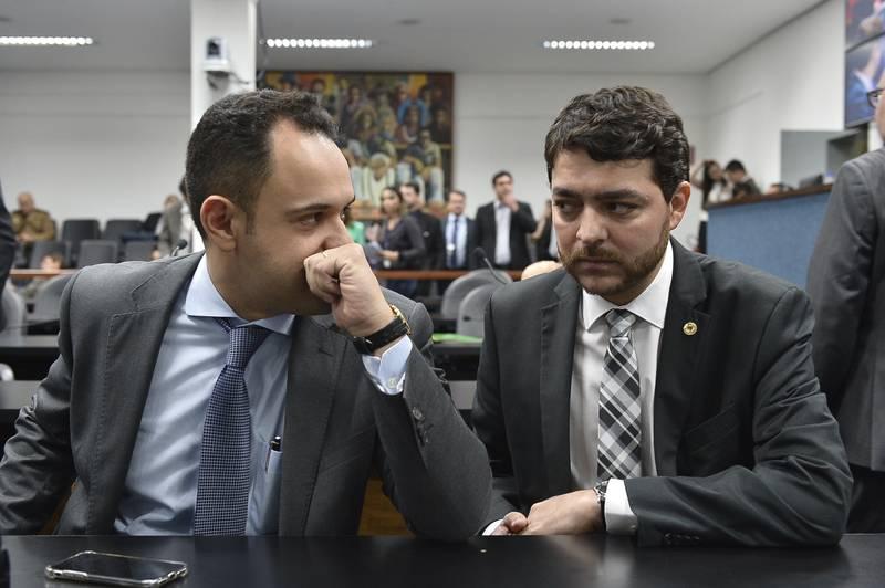 Deputados Cairo Salim (Pros) e Henrique Arantes (PTB): relator e presidente da CPI, respectivamente | Foto: Sérgio Rocha