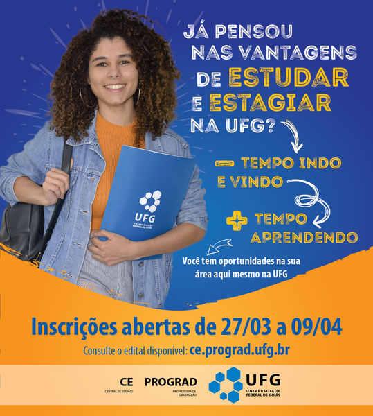 Estágio na UFG: 79 vagas abetas até para alunos de outras universidades   Foto: Divulgação