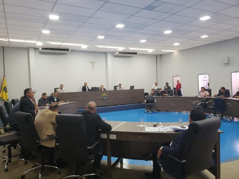 Plenário da Câmara de Aparecida | Foto: Reprodução