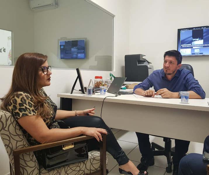 Deputado federal Glaustin da Fokus (PSC) e delegada Cybelle Tristão | Foto: Divulgação
