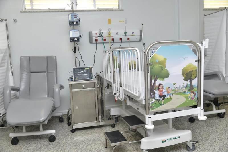 Prefeitura de Aparecida inaugurou ala de pediatria do Hospital Municipal de Aparecida com 40 leitos nesta quarta-feira, 8 | Foto: Wigor Vieira