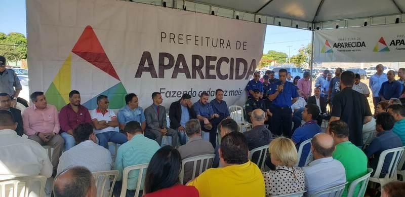 Segundo o secretário de Mobilidade e Defesa Social Roberto Cândido, 15 novas viaturas são locadas, o que baratearia os custos com manutenção | Foto: Folha Z