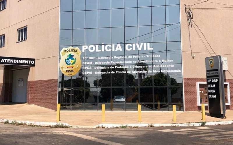 Delegacia de Trindade | Foto: Divulgação / PC