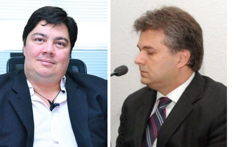 André Rosa (Fazenda) e Fábio Passaglia (Governo) | Fotos: Reprodução