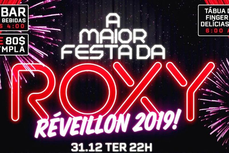 Réveillon! A Maior Festa da Roxy | Foto: Divulgação