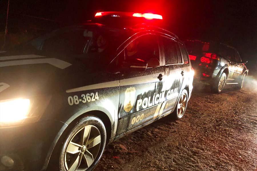 Diligência da Polícia Civil para localizar corpo teve que viajar por cerca de 40 km | Foto: Divulgação / PC